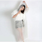 Handy Outdoor Goods White / One Size Women Outdoor Hiking Rainproof Jacket