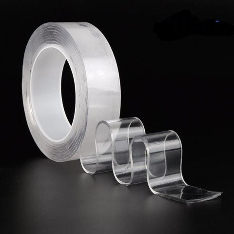 Handy Outdoor Goods 30mm / Clear / 5M Reusable Double-Sided Adhesive Tape