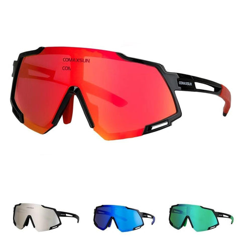Handy Outdoor Goods Professional Polarized 5 Len Cycling Glasses
