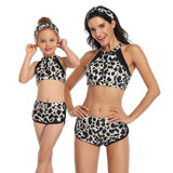 Handy Outdoor Goods RL201912 Leopard / Adult M (US 8-10) Women Sexy Vintage Swimsuit