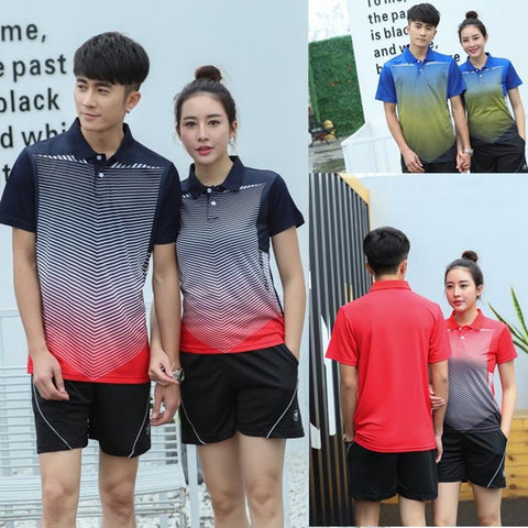 Handy Outdoor Goods Women/Men running table tennis clothes