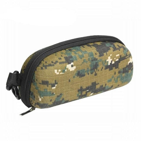 Handy Outdoor Goods Digital Woodland Camo Sunglasses Protective Case [Can Attach to Belt or Bag]