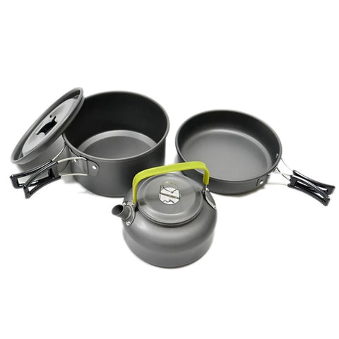 Handy Outdoor Goods Aluminum Alloy Camping Cookware