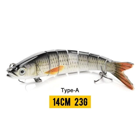 Handy Outdoor Goods 8 Segments A2 Wobblers Fishing Lures