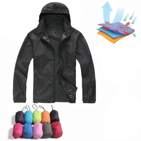 Handy Outdoor Goods Quick Drying Jackets [STAY DRY AND PROTECTED FROM THE SUN]