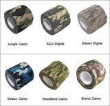 Handy Outdoor Goods Reusable Camo Tape [MAKE YOUR ITEMS LOOK AWESOME!]