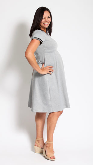 Elena Breastfeeding Tie Dress