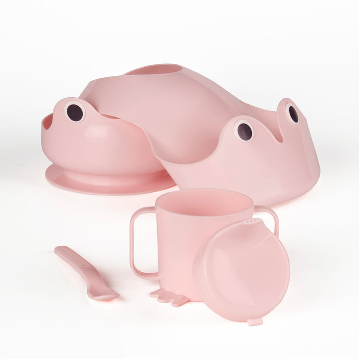 IKEA MATA 4-piece eating set, pink - EGG Maternity NZ Ltd