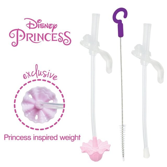 B.Box Disney Sippy Cup Replacement Straw- Princess
