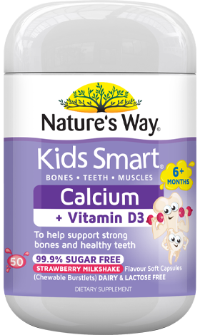 Nature's Way Kids Smart Calicium + Vit D3 50s - EGG Maternity NZ Ltd