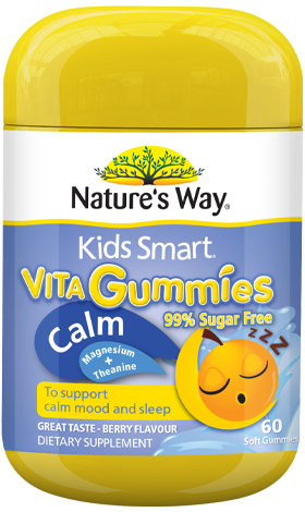 Nature's Way Kids Smart Vita Gummies Calm 60s - EGG Maternity NZ Ltd