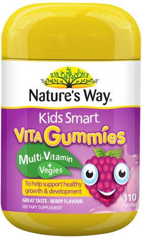 Nature's Way Kids Smart Vita Gummies Multi Vitamin + Vegies - EGG Maternity NZ Ltd
