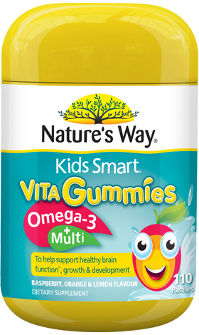 Nature's Way Kids Smart Vita Gummies Omega-3 + Multi 110s - EGG Maternity NZ Ltd