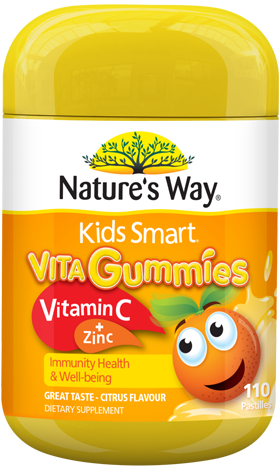 Nature's Way Kids Smart Vita Gummies Vitamin C + Zinc - EGG Maternity NZ Ltd