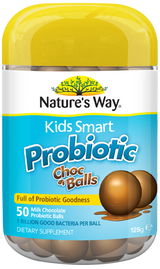 Nature's Way Kids Smart Probiotic Choc Balls 50s - EGG Maternity NZ Ltd