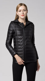 Gilda Breastfeeding Puffer Jacket - EGG Maternity NZ Ltd