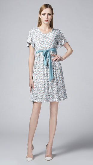 Lucy Knit Nursing Dress