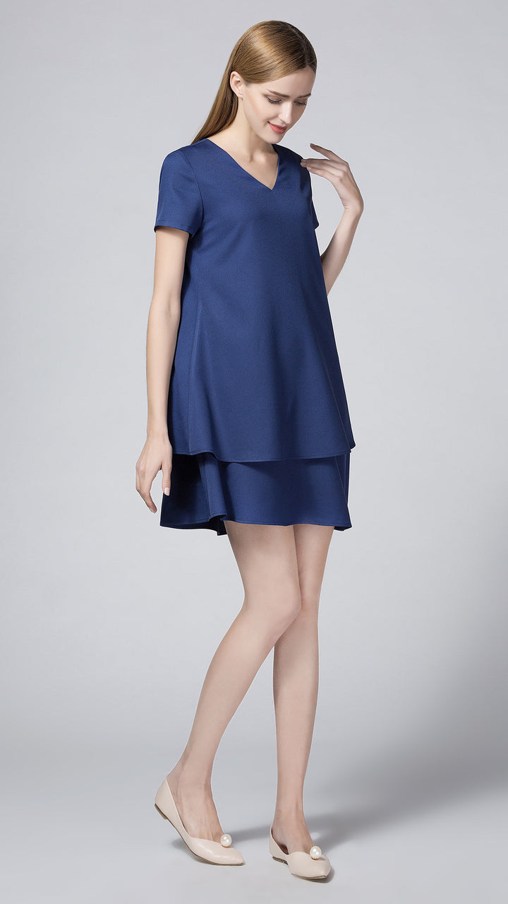 Kara Overlay Nursing Dress