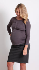 Dahna Maternity Pencil Skirt