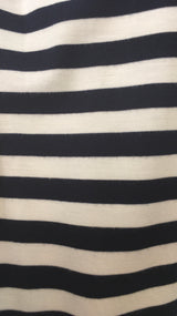 navy stripe maternity /breastfeeding top