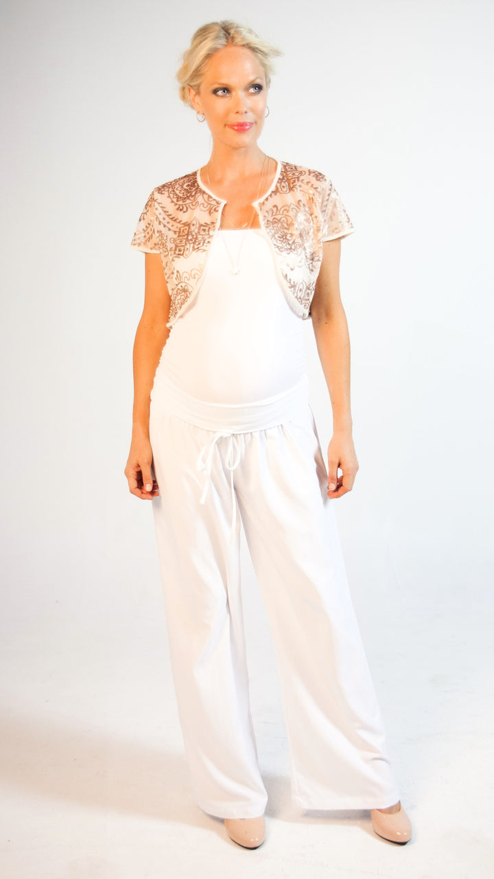 Chloe Maternity Sheer Pant - EGG Maternity NZ Ltd