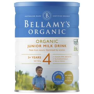Bellamy's Organic Step 4 Junior 900g