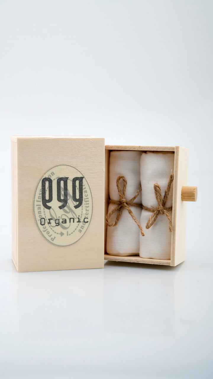 Egg Muslin Face Cloth
