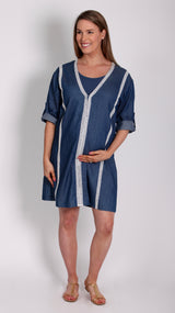 Bohemian Breastfeeding Tunic Dress - EGG Maternity NZ Ltd