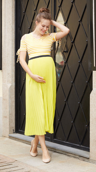 Egg Maternity Pleat Skirt - EGG Maternity NZ Ltd