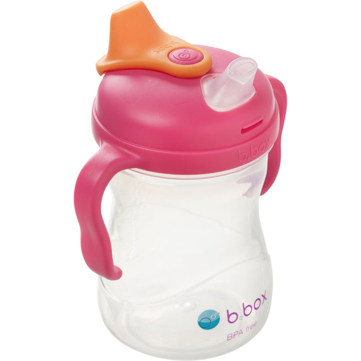 B.Box Spout Cup Raspberry - EGG Maternity NZ Ltd