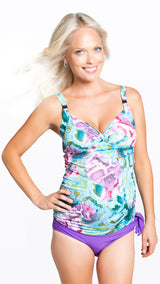 Maria Breastfeeding 2pce Swimsuit - EGG Maternity NZ Ltd