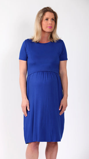 Mona Breastfeeding Summer Dress - EGG Maternity NZ Ltd