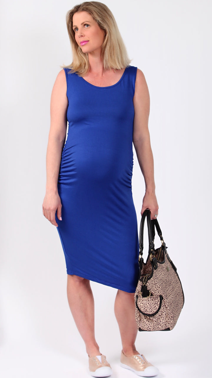 Jianna Ruched Fitted Dress - EGG Maternity NZ Ltd