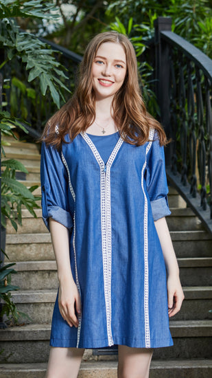Bohemian Breastfeeding Tunic Top