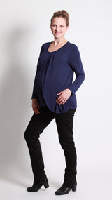 Esta Tulip Front Breastfeeding Top