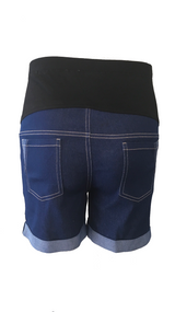 Zeta Maternity Denim Short