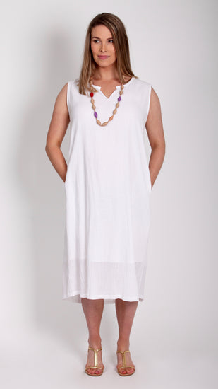 Erin Maternity Cotton Pocket Dress