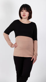 Lalia Breastfeeding L/S Top - EGG Maternity NZ Ltd