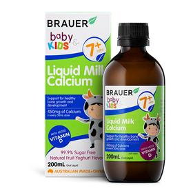 Brauer Baby & Kids Liquid Milk Calcium 200ml