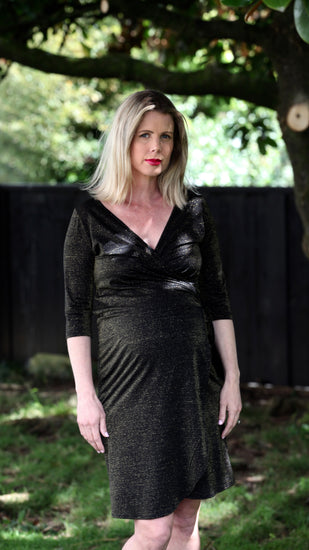 Elaine Maternity Wrap Dress - EGG Maternity NZ Ltd