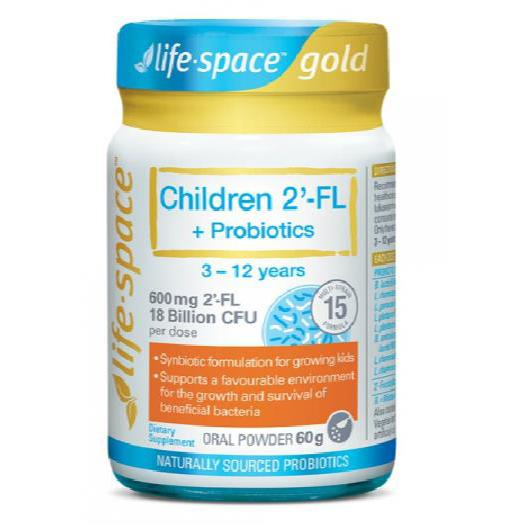 Life Space Children 2'-FL +Probiotics 3-12 years 60g