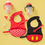 B.Box Disney Mickey Travel Bib & Spoon - EGG Maternity NZ Ltd