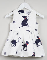 Cat Printed Tutu Dress