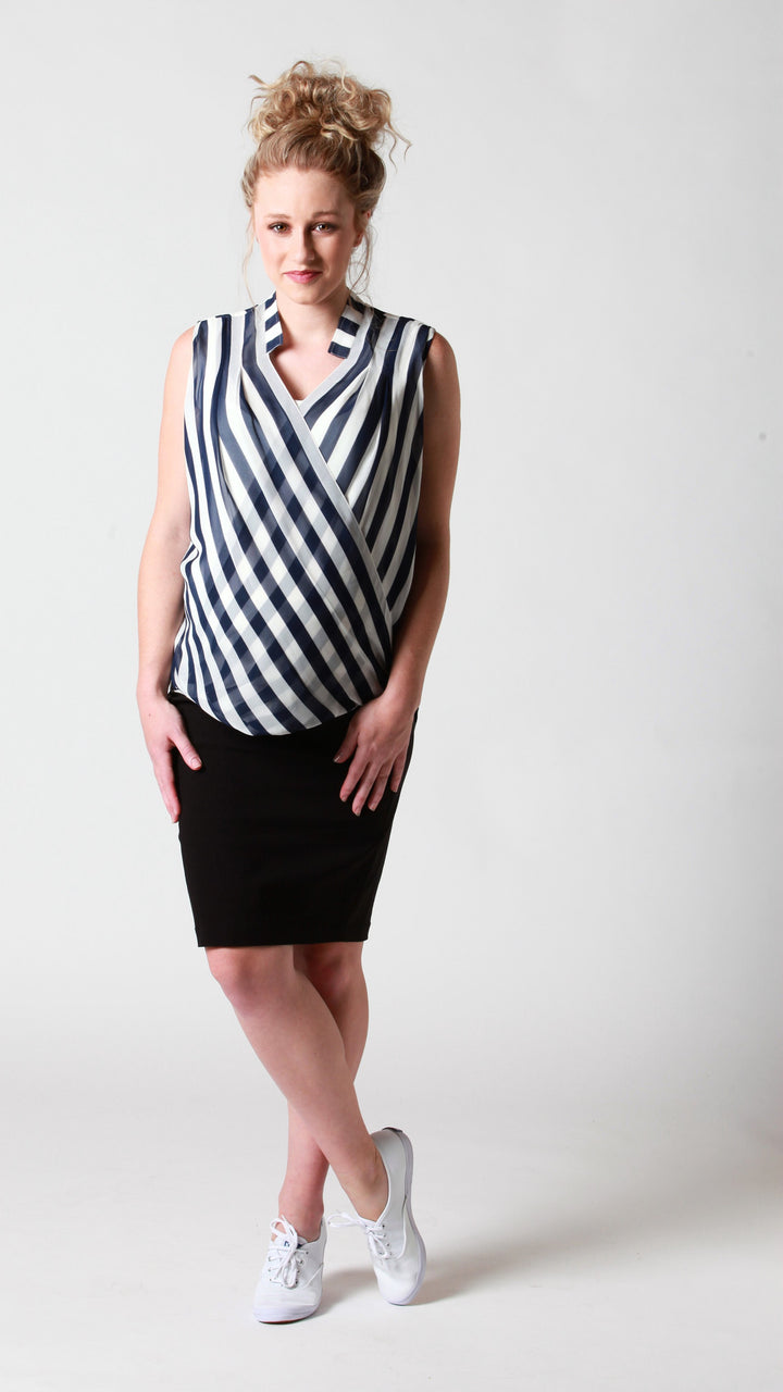 Celia Nursing Stripe Top