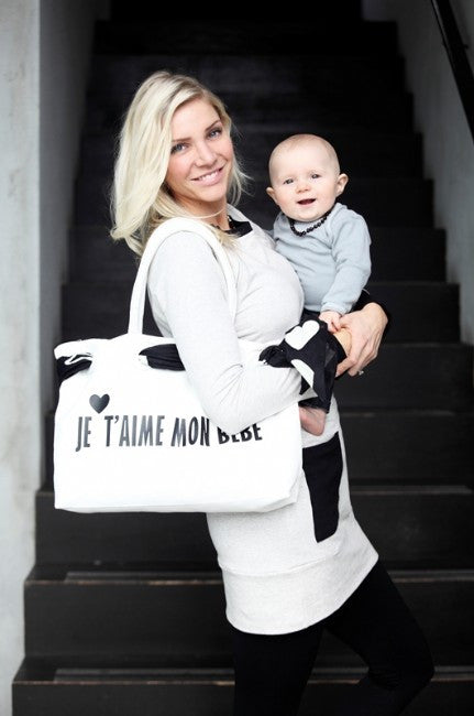 Je T'aime Maternity Bag - EGG Maternity NZ Ltd