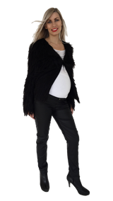 Maternity Leather Like Jeans - EGG Maternity NZ Ltd