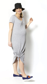 Arietta Maternity Shirt Dress