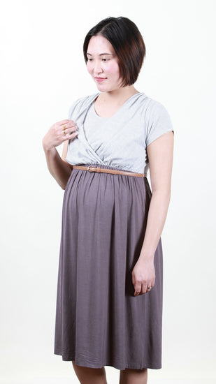 Grazia Belt Nursing Dress