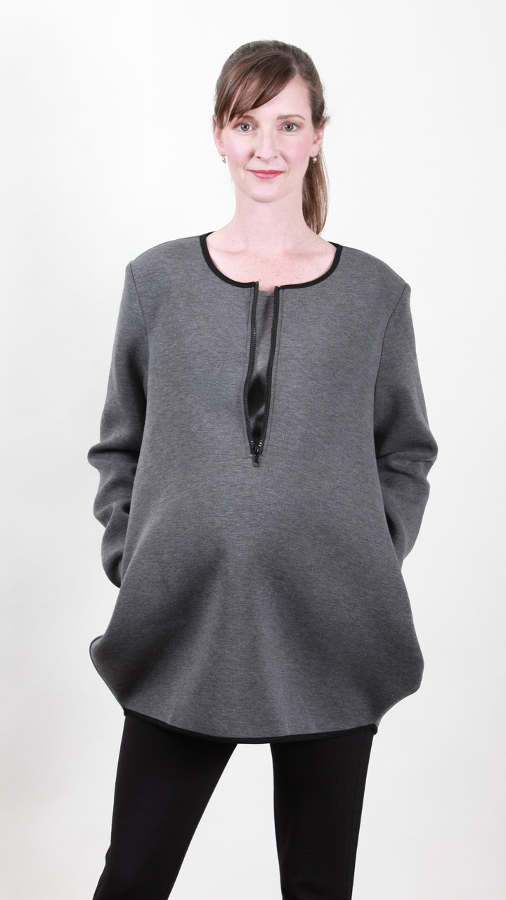 Fia Nursing Zip Tunic Dress