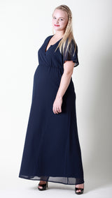 Angeline Glamour Maternity Maxi Dress - EGG Maternity NZ Ltd
